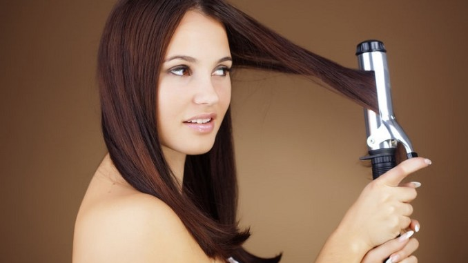 Ironing your hair