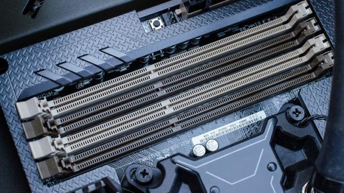 Install RAM