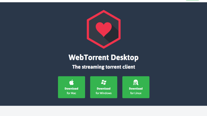 WebTorrent Desktop